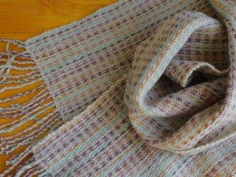 手織のストール 薄香(うすこう)の画像