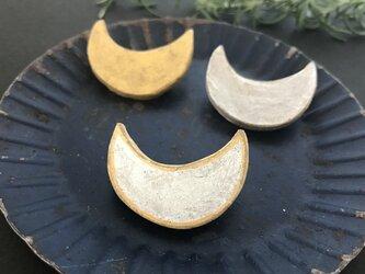 月のブローチ/WH&GDの画像