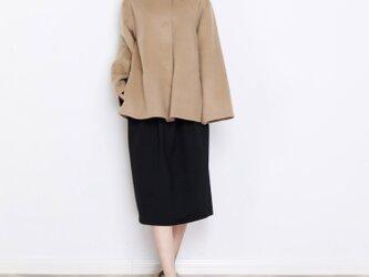 16色 手縫い カシミヤウール リバーシブル生地 ゆったり コート☆オーダーメイド可<新作>の画像
