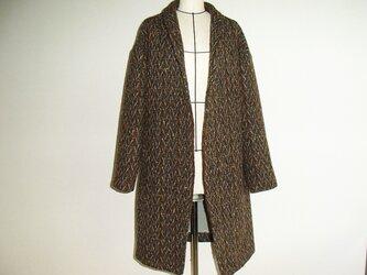 イタリア製ツイードのコートの画像