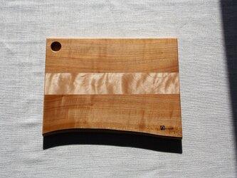 桜と楓のチョップボード(まな板)Ⅲの画像