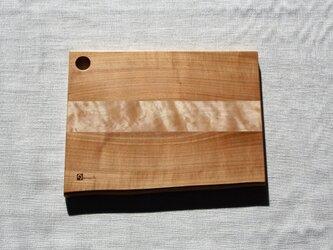桜と楓のチョップボード(まな板)Ⅳの画像