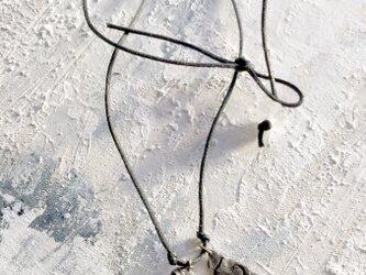 原石ネックレス クオーツ(水晶)の画像