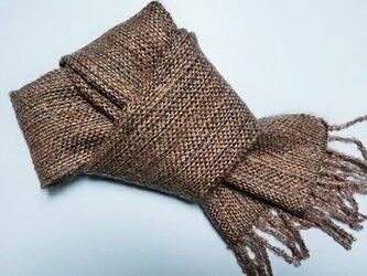 手織りマフラー・ミニの画像