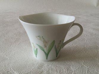 すずらんマグカップの画像