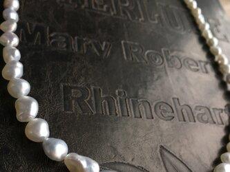 南洋真珠芥子ネックレス 約45cmの画像