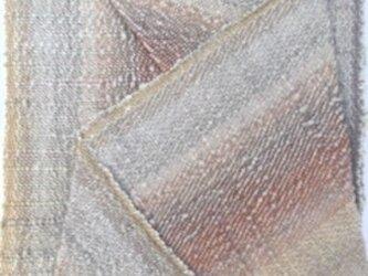 """■手織/植物染料/ミニタピスリー""""織りを織る""""の画像"""