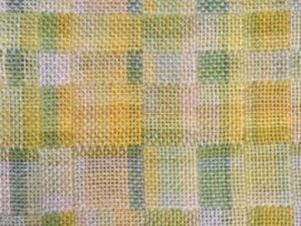 ■手織/麻(ラミー)テーブルランナー&ミニタピスリーの画像