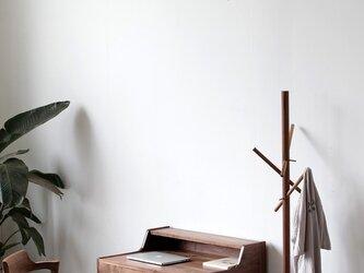 受注生産【ハンドメイド家具】北欧アンティーク 学習机/パソコンデスク/作業台 パイン無垢集成材 サイズオーダー可 天然木の画像