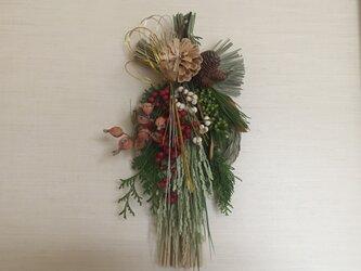 お正月変形リース飾り(月桃)3の画像