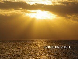 有明海の薄明光線2「ポストカード5枚セット」の画像