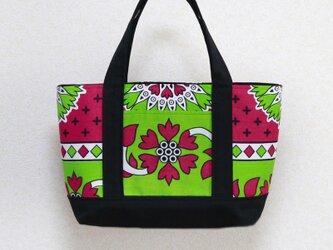 カンガのトートバッグ 手持ちタイプの画像