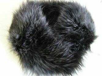 ¶ new antique fur ¶ シルバーフォックスファーブルーグレー染nejiriスヌード「septom」の画像