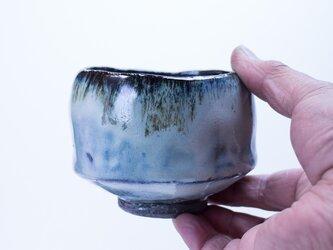 碧雪窯変 小ぶりでかわいい抹茶碗 181205の画像