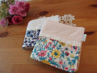 タオルハンカチ LIBERTY Fabric(2枚セット)の画像