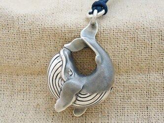 鈴『クジラ』銀製(シルバー925)の画像
