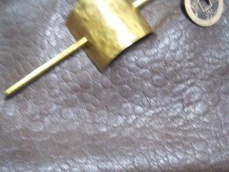 真鍮 古銭かんざし 簪 和風ごよみの画像