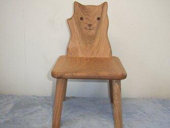 ネコ椅子の画像