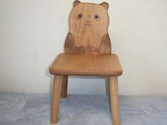 パンダ椅子の画像