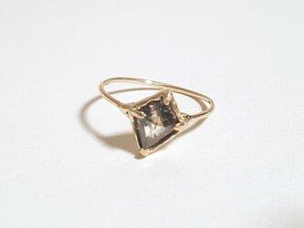 【k10】1点物 ナチュラルダイヤモンド リング #19の画像
