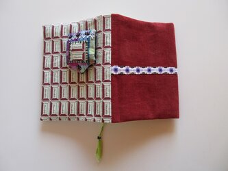 チョコレートエンブレムのブックカバーの画像