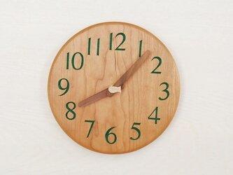 直径20cm 掛け時計 チェリー【1817】の画像