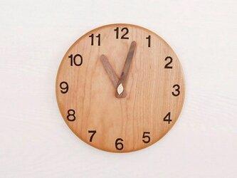 直径20cm 掛け時計 チェリー【1818】の画像