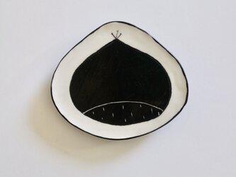 栗小皿の画像