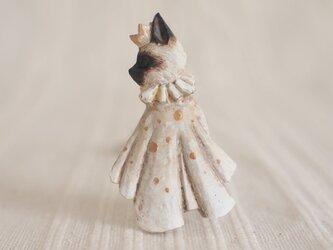 受注制作 ブローチ いつかの王子様 シャム猫(ボックス付き)の画像