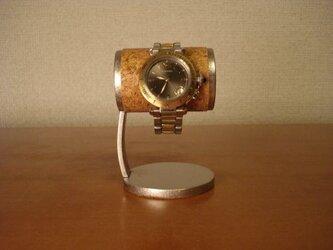 成人のお祝いの腕時計とともに腕時計スタンドを! 1本掛け支柱カーブかわいい腕時計スタンドの画像