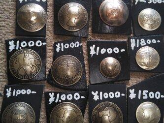 古銭 コイン で作ったコンチョ 承りますの画像