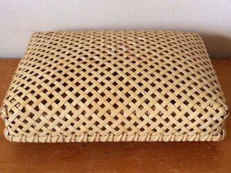 B5サイズの竹の文箱(アメニティボックス)の画像