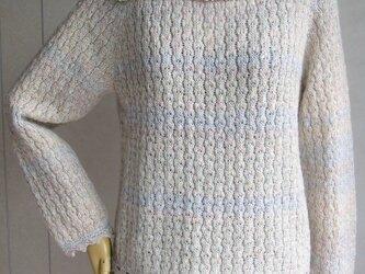 おもしろ襟のセーターの画像