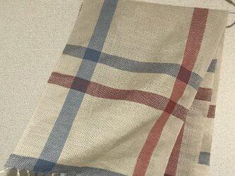 手織りストール W5の画像