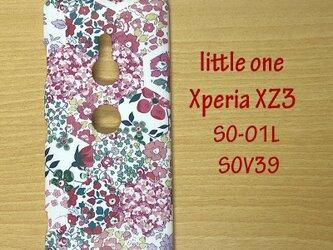 【リバティ生地】パッチワーク・ストーリーズピンク Xperia XZ3の画像