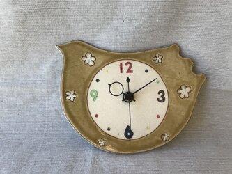 とりの時計の画像