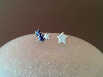 とうきのピアス(青の星々)の画像