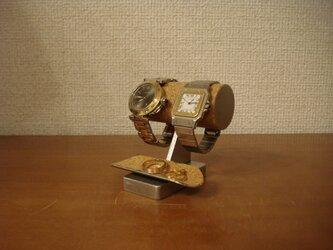 バレンタインデーに チビ!トレイ付き腕時計スタンド No.130226の画像