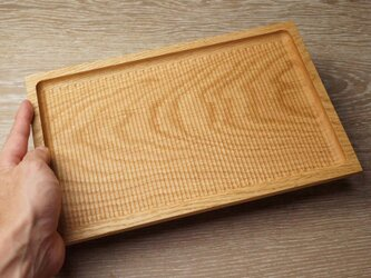 天然木 木の角皿の画像