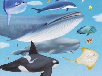 CG版画「空を航る」(シート販売)※販売終了の画像