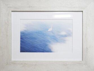 CG版画「湖面の雪解け」の画像