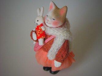 縮緬福猫 セーター猫 その八の画像