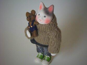 縮緬福猫 セーター猫 その九の画像