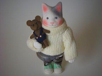 縮緬福猫 セーター猫 その十一の画像