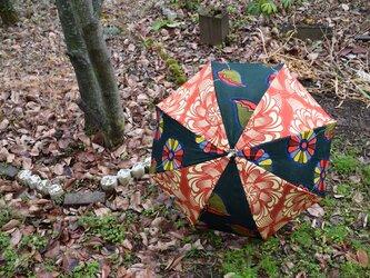 f150-アフリカ布日傘の画像