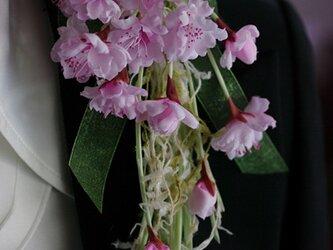 桜のコサージュE-2の画像