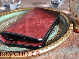 イタリアンレザー・革新のプエブロ・長財布(コッチネラ)の画像