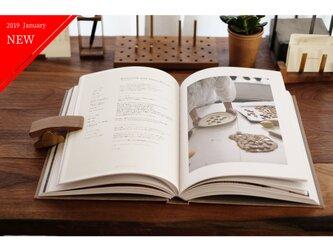 真鍮とウォールナットのブッククリップ No1の画像