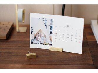 【送料無料】真鍮のカードスタンド 2個セット No14の画像