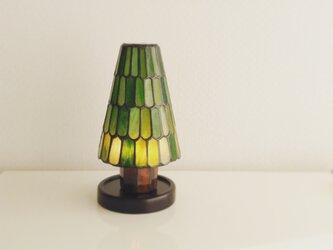モミの木ランプ ウロコ柄の画像